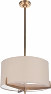 Craftmade 48393-VB Devlyn Vintage Brass Drum Ceiling Pendant Light