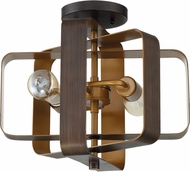 Craftmade 48552-ABZ Linked Contemporary Aged Bronze Brushed Ceiling Light Fixture