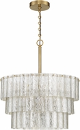 Craftmade 48694-SB Museo Satin Brass 20.5  Hanging Light
