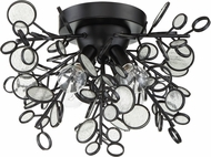 Craftmade 48784-MBK Sigrid Contemporary Matte Black Ceiling Light Fixture