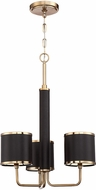 Craftmade 48823-SB Quinn Satin Brass Mini Chandelier Lamp