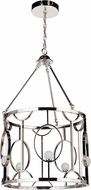 Craftmade 49035-PLN-LED Indy Contemporary Polished Nickel LED Foyer Lighting Fixture