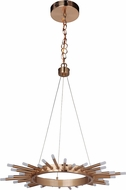 Craftmade 49120-SB-LED Korona Contemporary Satin Brass LED 26' Ceiling Pendant Light