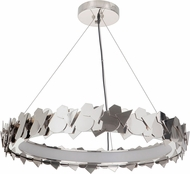 Craftmade 49390-PLN-LED Bangle Modern Polished Nickel LED Pendant Lighting