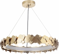 Craftmade 49390-SB-LED Bangle Contemporary Satin Brass LED Pendant Light