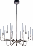 Craftmade 49615-PLN-LED Valdi Contemporary Polished Nickel LED Lighting Chandelier