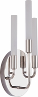 Craftmade 49663-PLN-LED Valdi Contemporary Polished Nickel LED Wall Sconce Lighting