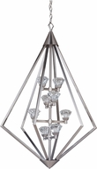 Craftmade 49738-BNK-LED Radiante Brushed Polished Nickel LED Entryway Light Fixture