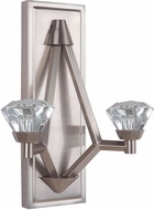 Craftmade 49762-BNK-LED Radiante Brushed Polished Nickel LED Wall Light Sconce