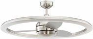 Craftmade ANI36BNK3 Anillo Modern Brushed Polished Nickel LED 36  Home Ceiling Fan