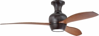 Craftmade BRD52OB3 Bordeaux Contemporary Oiled Bronze LED 52 Home Ceiling Fan