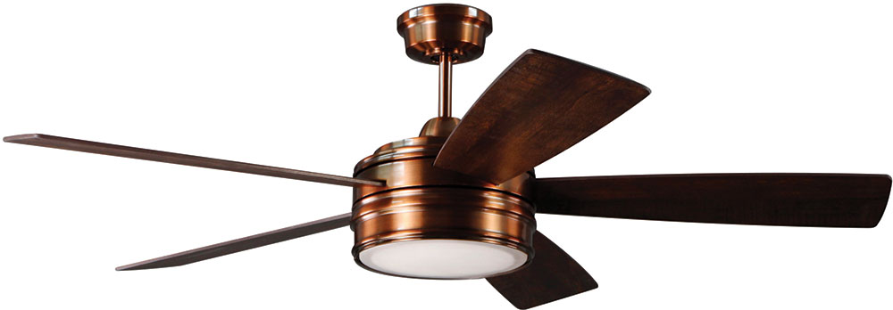 Craftmade brx52bcp5 braxton brushed copper led 52 residential craftmade brx52bcp5 braxton brushed copper led 52nbsp residential ceiling fan loading zoom aloadofball Gallery
