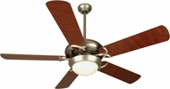 Craftmade CIU52BN5-LED Civic Unipack Brushed Satin Nickel LED 52  Home Ceiling Fan