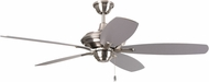 Craftmade CN52BNK5 Copeland Brushed Polished Nickel Fluorescent 52  Ceiling Fan