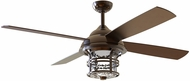 Craftmade CYD56OB4 Courtyard Oiled Bronze LED Exterior 56  Home Ceiling Fan