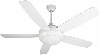 Craftmade HE52W5-LED Helios White LED 52  Ceiling Fan
