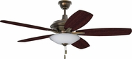 Craftmade JAM52LB5-LED Jamison Legacy Brass LED 52  Ceiling Fan