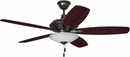Craftmade JAM52OBG5-LED Jamison Oiled Bronze Gilded LED 52  Home Ceiling Fan