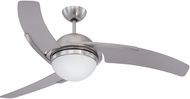 Craftmade JU54BNK3-LED Juna Contemporary Brushed Polished Nickel 54  Home Ceiling Fan