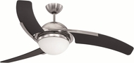 Craftmade JU54PLN3-LED Juna Modern Polished Nickel 54  Ceiling Fan