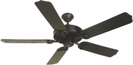 Craftmade K10163 Outdoor Patio Fan Flat Black Outdoor 52  Home Ceiling Fan