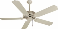 Craftmade K10172 Porch Fan Antique White Outdoor 52  Ceiling Fan