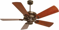 Craftmade K10214 Woodward Dark Coffee/Vintage Madera Indoor 54  Home Ceiling Fan