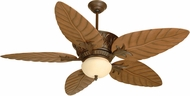 Craftmade K10241 Pavilion Aged Bronze Textured Indoor / Outdoor 54  Ceiling Fan