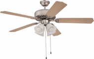 Craftmade K10262 Pro Builder Brushed Satin Nickel 52  Home Ceiling Fan