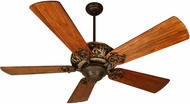 Craftmade K10273 Ophelia Aged Bronze/Vintage Madera Indoor 54 Ceiling Fan