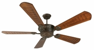 Craftmade K10309 DC Epic Aged Bronze Textured Indoor / Outdoor 70  Home Ceiling Fan