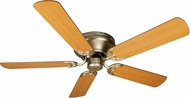 Craftmade K10313 Pro Contemporary Flushmount Brushed Satin Nickel Indoor 52  Ceiling Fan