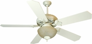Craftmade K10325 Mia Antique White Distressed Fluorescent Indoor 52  Home Ceiling Fan