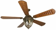 Craftmade K10338 Olivier Aged Bronze Textured Indoor / Outdoor 70  Ceiling Fan