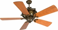 Craftmade K10359 Toscana Peruvian Bronze Indoor 54  Home Ceiling Fan