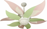 Craftmade K10367 Bloom Modern White Fluorescent Indoor 52  Ceiling Fan
