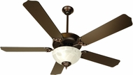 Craftmade K10433 Pro Builder 201 Oiled Bronze Fluorescent Indoor 52  Ceiling Fan