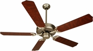 Craftmade K10436 Pro Builder Brushed Satin Nickel Indoor 52  Home Ceiling Fan