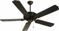 Craftmade K10442 Porch Fan Oiled Bronze Outdoor 44  Home Ceiling Fan