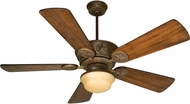 Craftmade K10510 Chaparral Aged Bronze Textured Fluorescent Indoor / Outdoor 54  Ceiling Fan