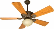 Craftmade K10511 Chaparral Aged Bronze Textured Fluorescent Indoor / Outdoor 54  Home Ceiling Fan