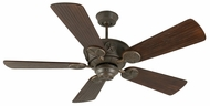 Craftmade K10513 Chaparral Aged Bronze Textured Indoor / Outdoor 54  Home Ceiling Fan