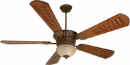 Craftmade K10515 DC Epic Aged Bronze Textured Fluorescent Indoor / Outdoor 70  Ceiling Fan