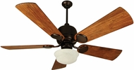 Craftmade K10516 Kona Bay Oiled Bronze Fluorescent Indoor / Outdoor 54  Home Ceiling Fan