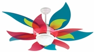 Craftmade K10613 Bloom Contemporary White Fluorescent Indoor 52  Home Ceiling Fan