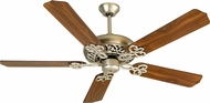 Craftmade K10616 Cecilia Brushed Satin Nickel Indoor 52  Ceiling Fan