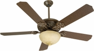Craftmade K10617 Cecilia Unipack Aged Bronze Textured Fluorescent Indoor 52  Home Ceiling Fan