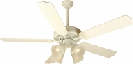 Craftmade K10630 Pro Builder 203 Antique White Fluorescent Indoor 52  Home Ceiling Fan