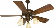 Craftmade K10674 CXL Aged Bronze Textured Fluorescent Indoor 54  Home Ceiling Fan