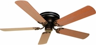 Craftmade K10686 Pro Contemporary Flushmount Oiled Bronze Indoor 52  Ceiling Fan